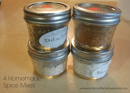 How to Make Homemade Spice Mixes