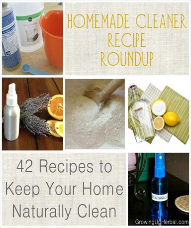 42 DIY Homemade Cleaner Recipes To Keep Your Home Naturally Clean