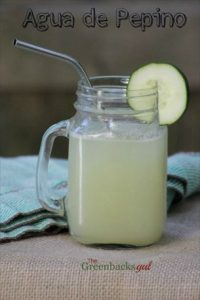 How to Make Agua de Pepino (Cucumber Cooler with Lime)