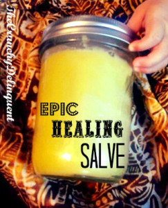How to Make an Epic Healing Salve