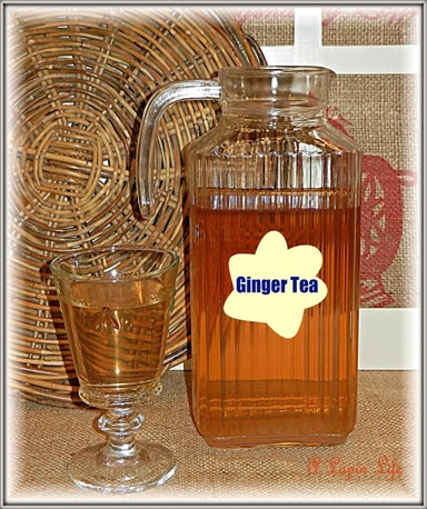 Homemade Ginger Tea ~ Fights Colds, Flu, Coughs & More