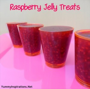 Homemade Raspberry Jelly Treats