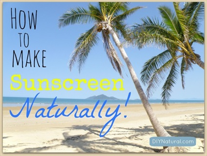 Homemade Natural Sunscreen