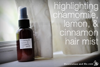 Homemade Hair Lightener