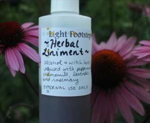 Homemade Healing Herbal Liniment