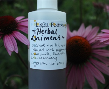 Homemade Healing Herbal Liniment