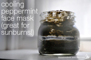 How to Make a Cooling Summer Peppermint Mask (Recipe)