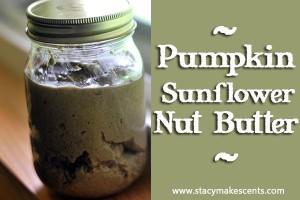 How to Make Pumpkin Sunflower Nut Butter