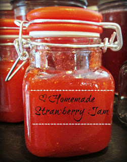 Homemade Strawberry Freezer Jam Recipe