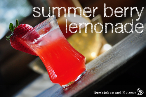 Homemade Summer Berry Lemonade Recipe
