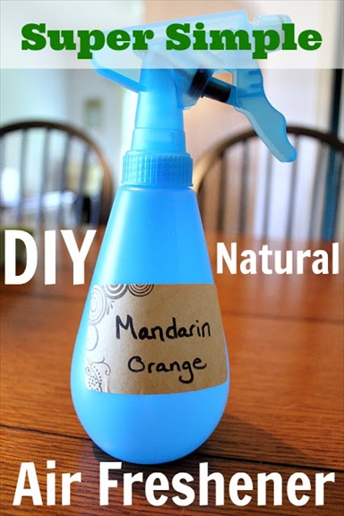 Homemade DIY Natural Air Freshener