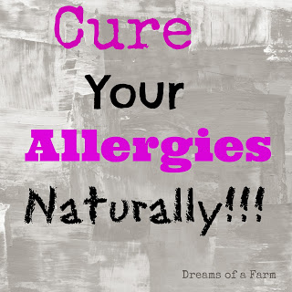 A Recipe for a Natural Allergy Remedy with Essential Oils