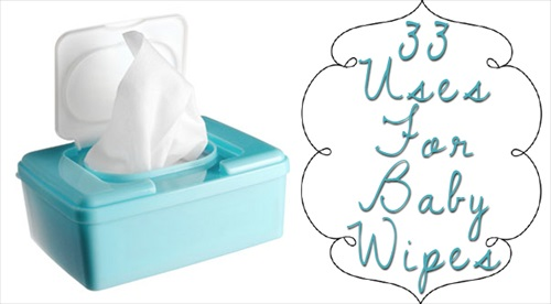 "33 Uses For ""Baby"" Wipes Besides Cleaning Babies"