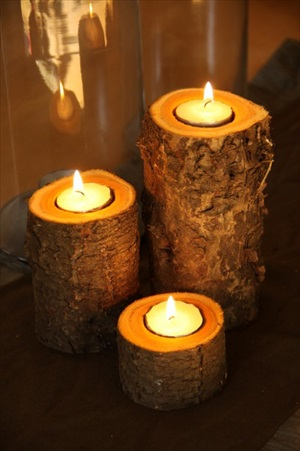 How to Make Easy Rustic Fall Candles