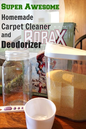 Homemade Carpet Cleaner and Deodorizer Recipe