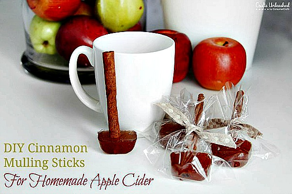 How to Make Spicy Cinnamon Mulling Sticks for Homemade Apple Cider