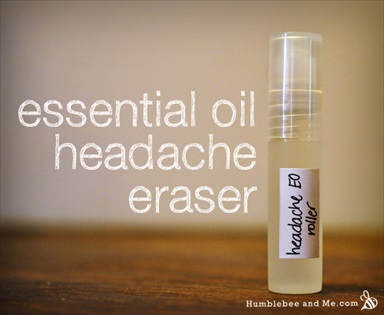 Essential Oil Headache Eraser