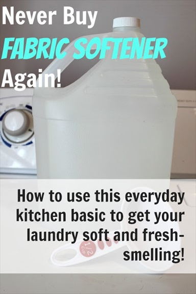 DIY Homemade Fabric Softener for Just Pennies!