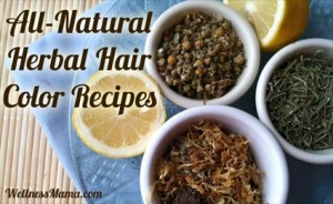 Homemade Herbal Hair Color Recipes