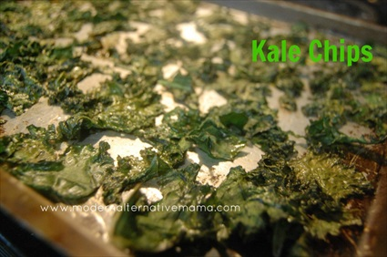 Baked Kale Bacon Chips Recipe
