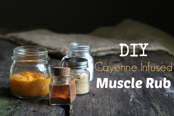How to Make a  Cayenne-Infused Warming Rub For Sore Muscles