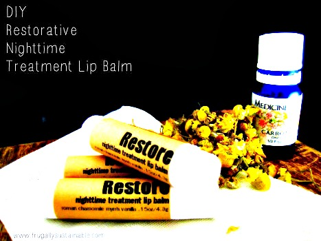DIY Restorative Lip Balm