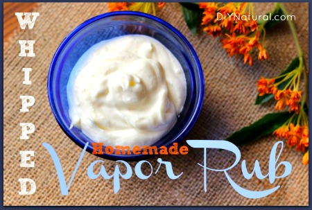 How to Make Whipped DIY Vapor Rub for Chest Congestion
