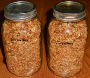 City Boy Homemade Granola Recipe