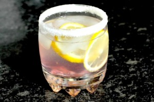 Lavender Infused Lemon Drop Cocktail Recipe