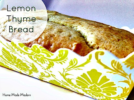 Lemon Thyme Bread Recipe
