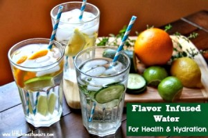 How to Make Healthy Flavor Infused Water