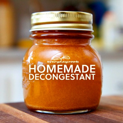 Homemade Natural Spicy Cider Decongestant and Expectorant
