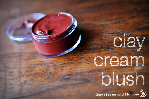 Clay cream blush
