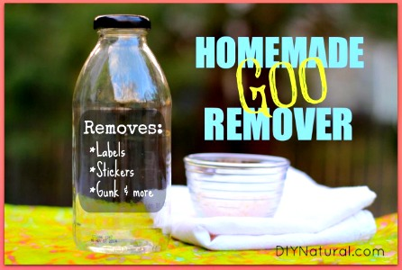 Homemade Adhesive Label & Sticker Remover