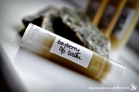 Homemade Bayberry Vegan Lip Balm Recipe