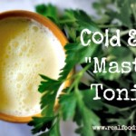 Homemade Cold and Flu Master Tonic Recipe