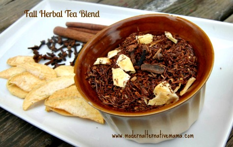 Homemade Fall Blend Herbal Tea Recipe
