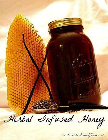 How to Make Herbal Infused Honey