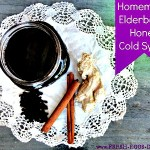 How to Make Homemade Elderberry Honey Cold Syrup