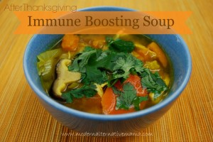 After Thanksgiving Immune Boosting Soup Recipe