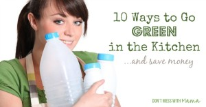 10 ways to go green