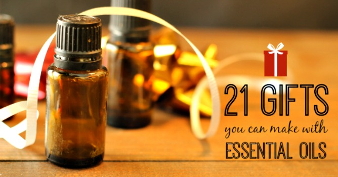 21 Simple Gifts You Can Make with Essential Oils