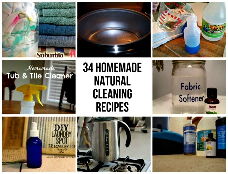 34 natural cleaning