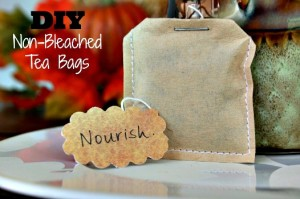 DIY Unbleached Tea Bags