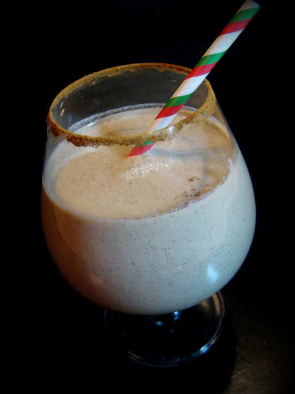 Homemade Dairy-Free Cinnamon Eggnog Recipe