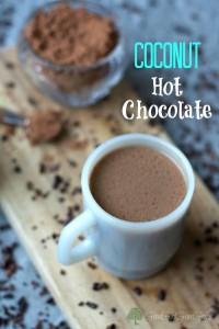 Healthy Coconut Hot Chocolate Recipe
