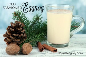 How to Make Old-Fashioned Eggnog