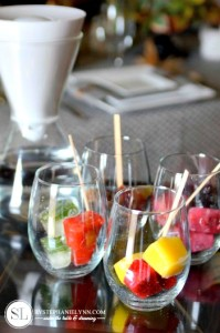 Flavored Ice Cubes ~ Infused Water Recipes