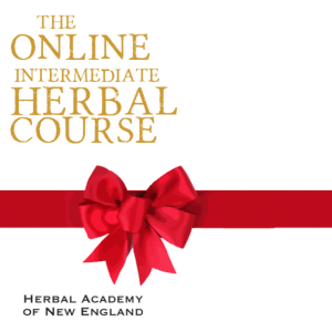 Gift Certificate for the ONLINE Intermediate Herbal Course