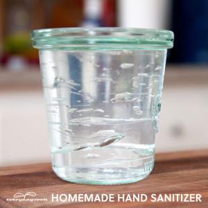 How to Make Homemade Natural Hand Sanitizer